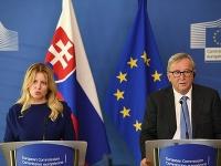 Zuzana Čaputová počas návštevy Bruselu