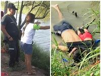 Dojemná snímka zachytáva smrť utečencov v rieke Rio Grande.