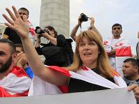 Saakašviliho manželka Sandra Roelofsová