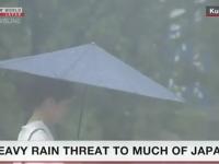 Japonsko postihli prudké lejaky