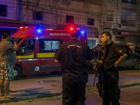 Útočník mal na sebe takzvaný samovražedný pás