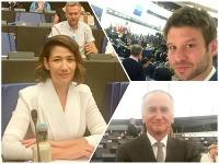 V europarlamente už zarezávajú nováčikovia