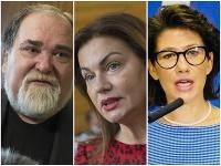 Miroslav Číž, Monika Beňová a Lucia Ďuriš Nicholsonová