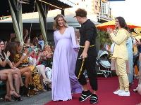 Jasmina Alagič a Milan Švingál predstavili kolekciu tehotenskej módy.
