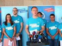 Miroslav Beblavý dnes spolu s členmi strany SPOLU predstavil programové priority