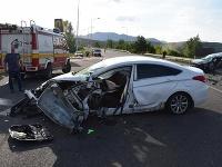 Dopravná nehoda v Novákoch si vyžiadala život 40-ročného muža