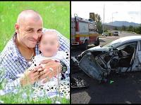 Slavomír (†40) zomrel pri autonehode, ktorú sám nezavinil.