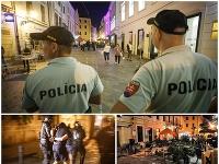 Hromadná bitka v Bratislave.
