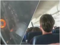 Strach a napätie na palube lietadla by sa dali krájať.