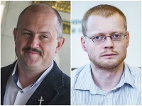 Marian Kotleba a Rastislav Schlosár