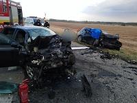 Po nehode ostali štyri osoby zranené