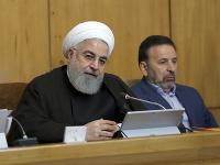 Iránsky prezident Hassan Rúhání