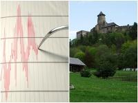 Zemetrasenie zaznamenali hlavne v okolí Starej Ľubovne