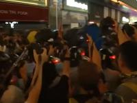 Polícia rozohnala demonštrantov pri hraniciach s Čínou