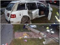 Nehody, pod ktoré sa popísal alkohol.