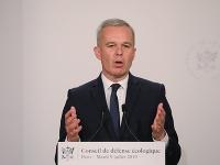 Francúzsky minister životného prostredia Francois de Rugy