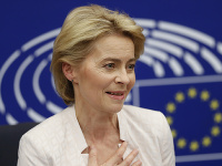 Novozvolená predsedníčka Európskej komisie Ursula von der Leyenová