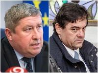 Špeciálny prokurátor Dušan Kováčik a obvinený v prípade vraždy novinára Jána Kuciaka Marian Kočner.