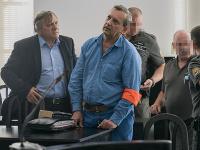 Na snímke obžalovaný Patrik P. počas pojednávania na Okresnom súde Bratislava I. 11. júla 2019.