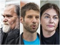 Miroslav Číž, Michal Šimečka a Monika Beňová