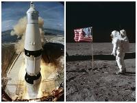 Saturn 5 a pristátie amerických austronautov na Mesiaci