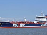 Iránske elitné revolučné gardy zadržali v Hormuzskom prielive britský ropný tanker