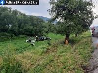 Smrteľná nehoda pri obci Štítnik.