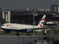 Na snímke je lietadlo spločnosti British Airways