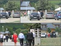 Pavol Rusko si počas obednej prestávky odskočil na obed do areálu Rozálka, ktorý patrí Ivanovi Lexovi.