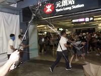 Hongkongská polícia zadržala šesť mužov