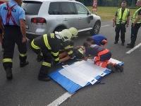 Opitý cyklista (64) spôsobil nehodu neďaleko Podbrezovej