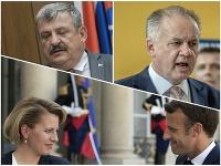 Osoby politického života reagujú na zahraničnú návštevu prezidentky Čaputovej vo Francúzsku