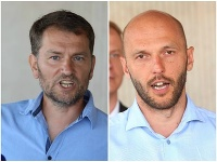 Igor Matovič a Michal Truban