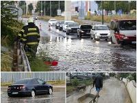 Sobotňajšie intenzívne búrky na Slovensku.
