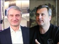 Robert Mistrík a Andrej Danko