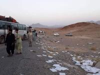 Bomba zasiahla najmä autobus