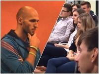 Michal Truban počas prednášky prirovnával cestu za úspechom ku skúsenosti s drogami
