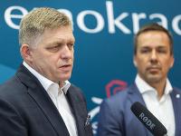 Robert Fico a Erik Tomáš