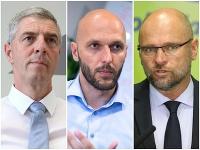 Béla Bugár, Michal Truban a Richard Sulík