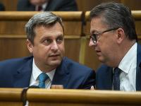 Andrej Danko a Martin Glváč