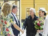 Michael Douglas s manželkou navštívili Bratislavu