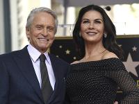 Michael Douglas a jeho manželka Catherine Zeta-Jones