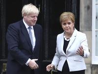 Boris Johnson a Nicola Sturgeonová