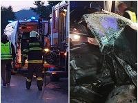 Tragická dopravná nehoda v okrese Rožňava.