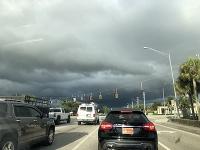Búrka na Floride