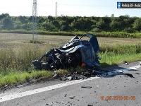 Nehoda Košice-Šebastovce Fabia a kamion