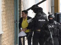 Mariana Kočnera priviezli na nitriansku pobočku Národnej kriminálnej agentúry.