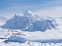 Sopka Erebus v Antarktíde