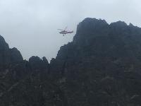 Horskí záchranári museli zasahovať na vrtuľníku