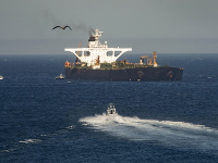 Iránsky tanker.